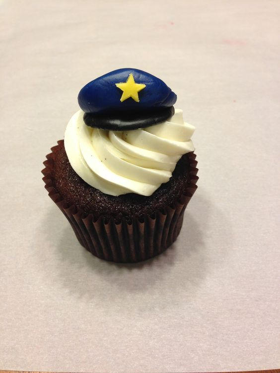 Police Police Cupcakes And Cupcake On Pinterest