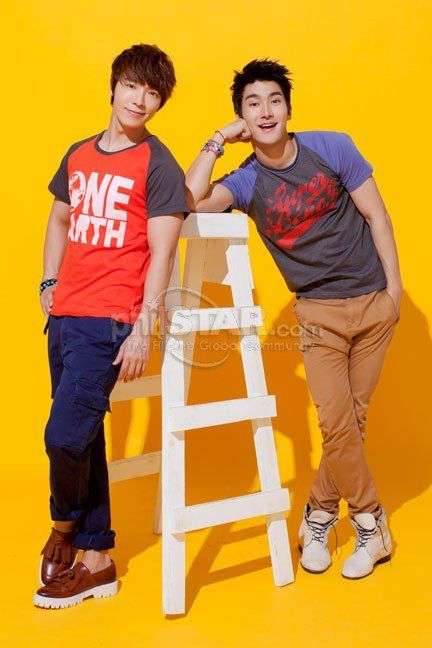 Siwon & Donghae for...BENCH!!
