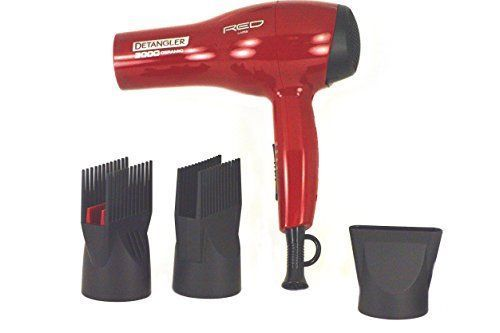 Kiss Products Red Detangler Dryer Plus