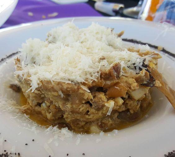 "Revuelto de setas parmesano y foie en ""La Geoda"" #AlmeriaLVT #tumejortu"