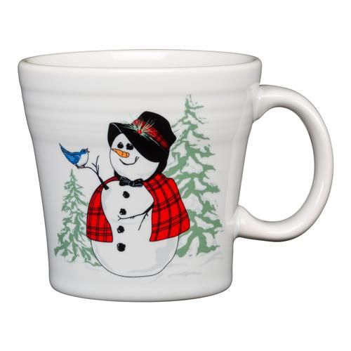 Fiesta 2020 Christmas Mug Snowlady Luncheon Plate – Fiesta Factory Direct in 2020 | Mugs