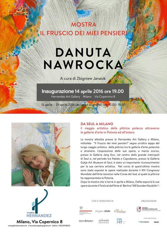 Danuta Nawrocka Mediolan - Hernandez Art Gallery Milano