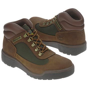 Timberland Field Boot Boots (Brown Nubuck/Olive) - Men's Boots - 13.0 M