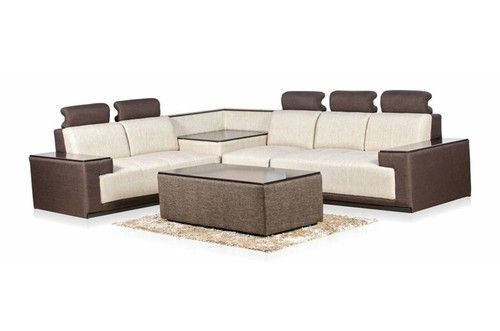 Metal And Fabric Corner Sofa Set Sathya Corporation Id 10436686012 In 2020 Corner Sofa Set Sofa Set Corner Sofa