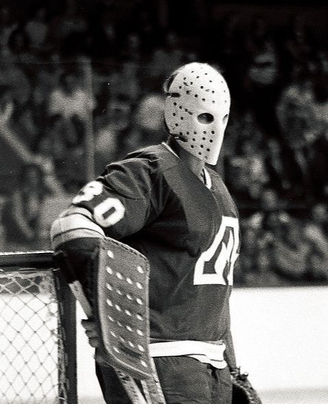 Vintage Nhl Hockey Goalie Mask 8x10 Art Photo Rare Goalie Mask Hockey Goalie Hockey