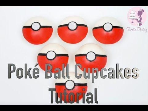 How To Make Pokeball Cupcakes - Sweetie Darling CakesSweetie Darling Cakes