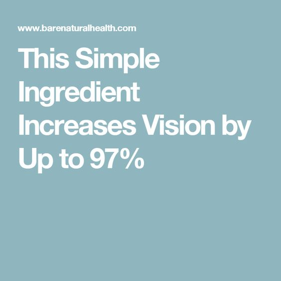 This Simple Ingredient Increases Vision by Up to 97% - 20mg saffron daily