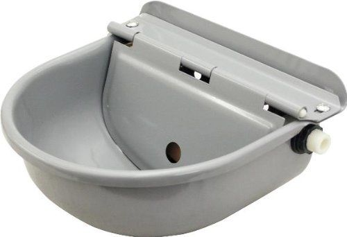 "Abetta Automatic Waterer - Grey - 12"" X 12"" X 7"" by ABETTA. $39.95. Size: 12"" X 12"" X 7"". Color: Grey. Enamel coated steel waterer with automatic shut off valve. Keeps water fresh and available."