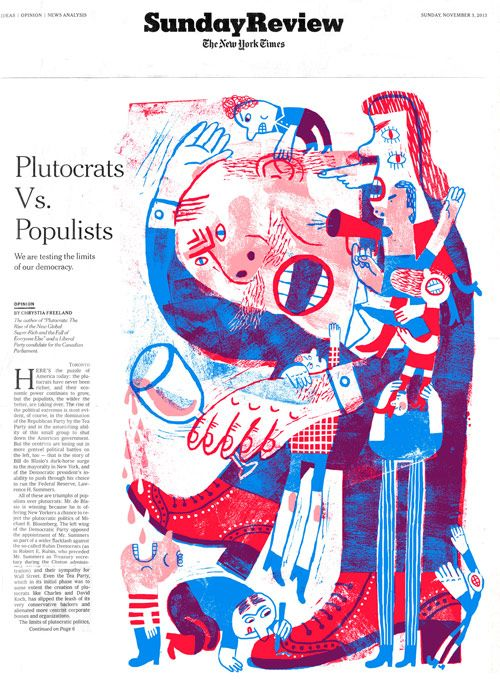 NY Times Sunday Review Cover - JooHee Yoon