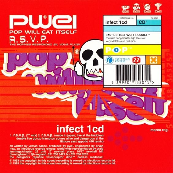 Pop Will Eat Itself - R.S.V.P. / Familus Horribilus at Discogs