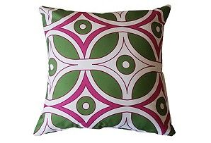 Pink & Green pillows for Spring...