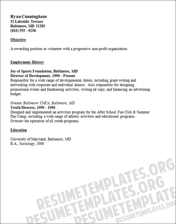 Public Relations Specialist Resume Sample resume template - mover resume