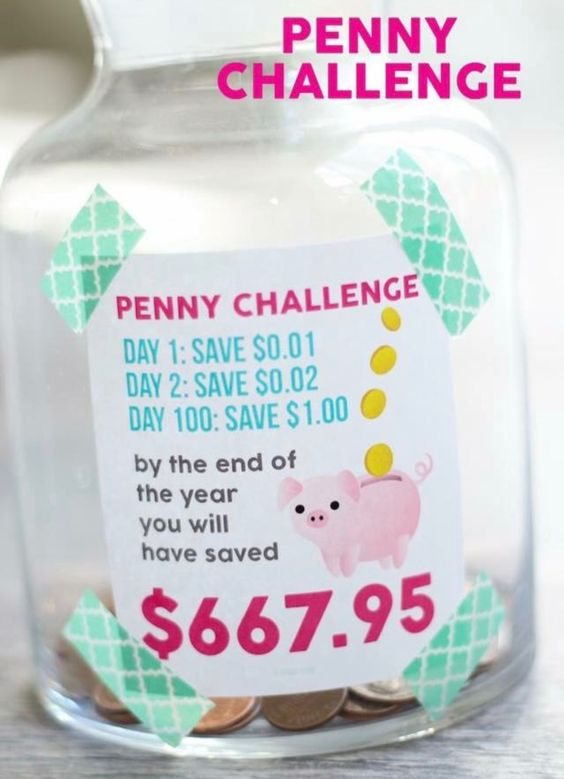 Penny challenge for the new year