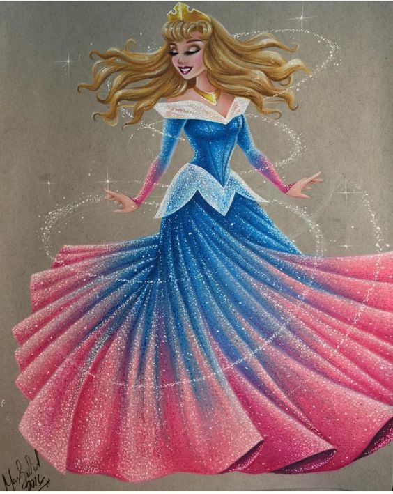 Aurora #DisneyCouture by @maxxstephen| Be Inspirational❥|Mz. Manerz: Being well dressed is a beautiful form of confidence, happiness & politeness: