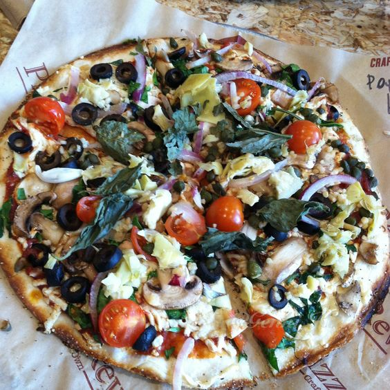 Vegan pizza rev options palmdale california