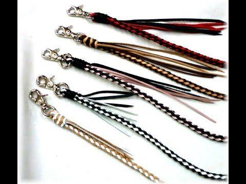 革ロープの作り方