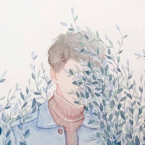 Uploaded by ☾아일라☽. Find images and videos about blue, guy and plants on We Heart It - the app to get lost in what you love.