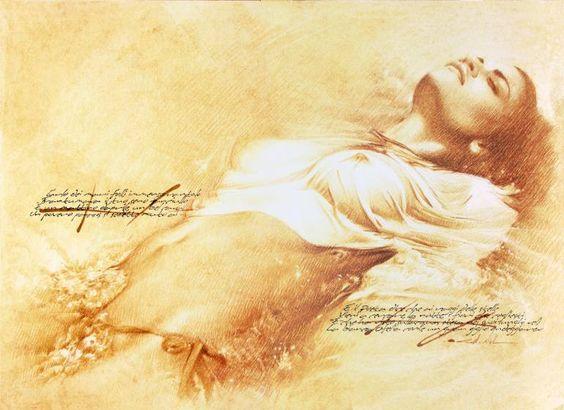 "Saatchi Art Artist Walter Girotto; Drawing, ""OPHELIA"" #art"