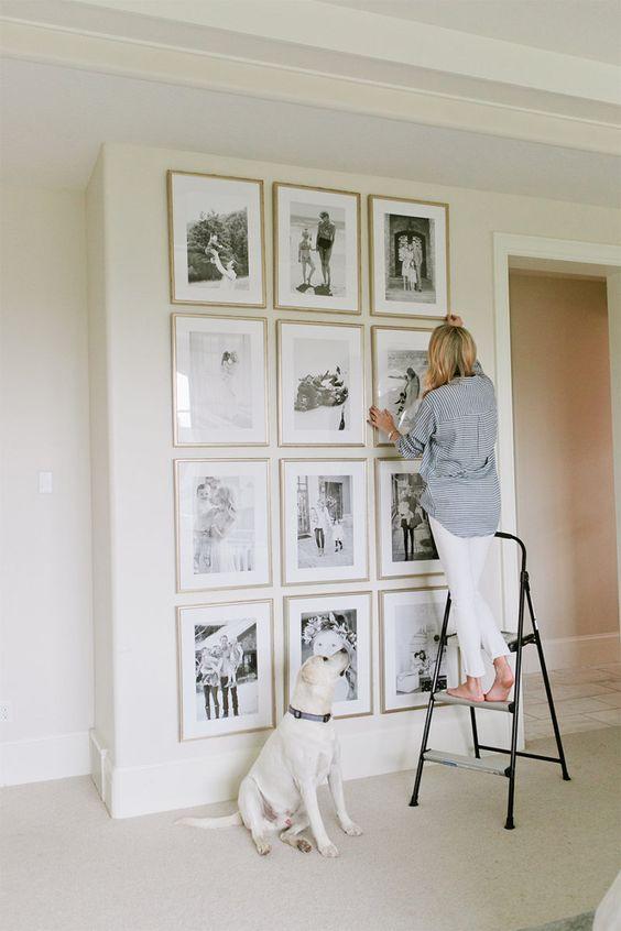 At Home with Framebridge | Ivory Lane