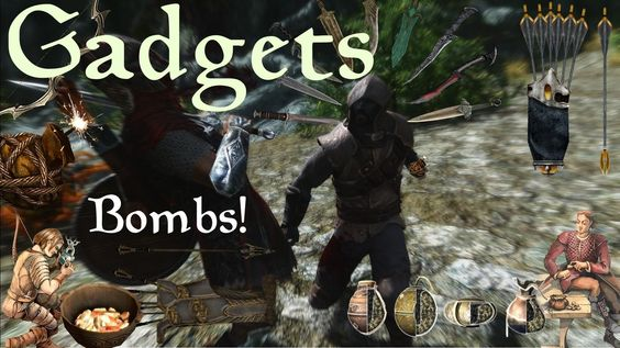 ELDER SCROLLS 6 - Bombs, Enchanted Arrows and Utility Gadgets