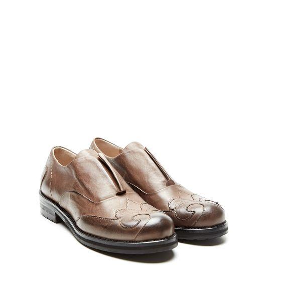 Malìparmi Leather Lace Up Shoe