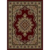 Found it at Wayfair - Chande Burgundy/Tan Area Rug