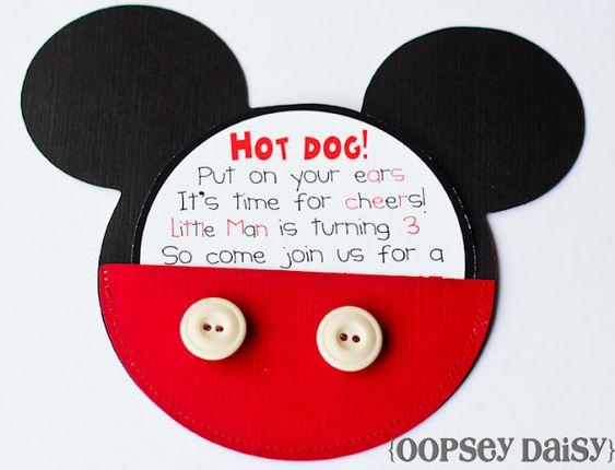 Mickey Mouse Birthday Party ideas, etc.