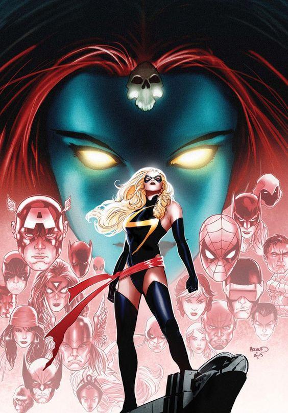 Wonderful Ms. Marvel cover art