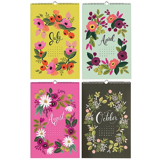 Secret Garden: Rifle Paper Co. Garden Calendar 2014