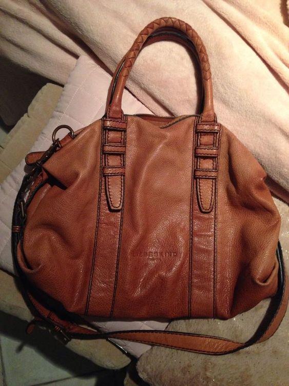 Bags & Handbag Trends : Sac a Main LIEBESKIND Cognac