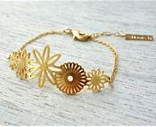 Flores Link Bracelet