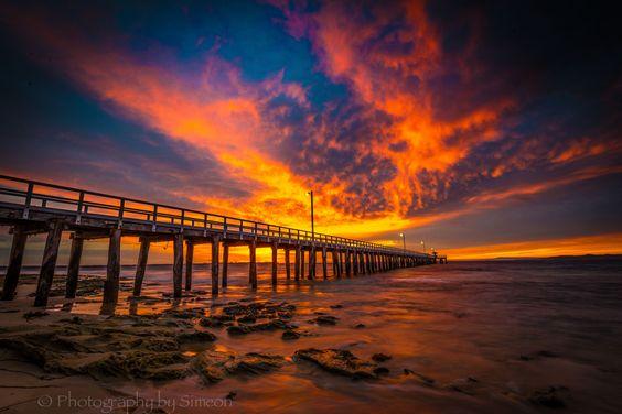 Morning sky alight by Simeon Mieszkowski on 500px