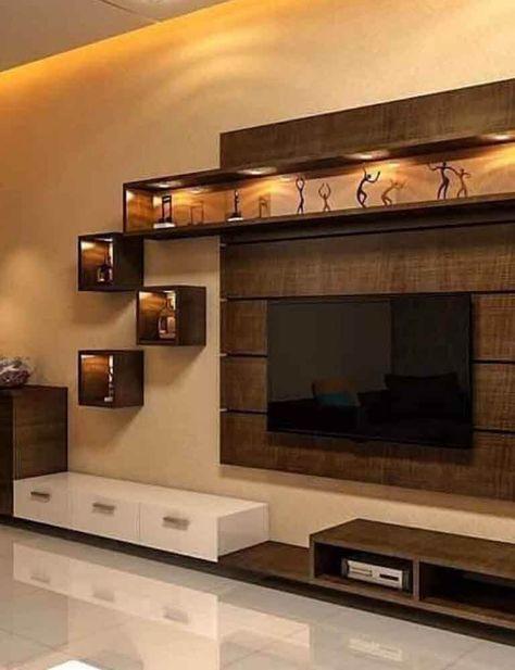 Interior Designer In Thaneresidential Interior Designers In Mumbai One Stop Solutions In Budg In 2020 Living Room Tv Unit Designs Modern Tv Wall Units Tv Room Design