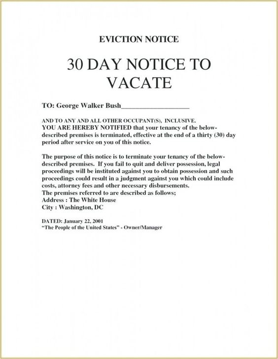 Intent To Vacate Letter Template In 2021 Professional Reference Letter Personal Reference Letter Letter Templates