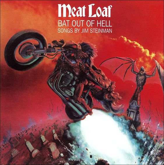 famous album covers | ... the most famous album covers of all time meatloaf and jim steinman s #BackintheDays #Cover #Music