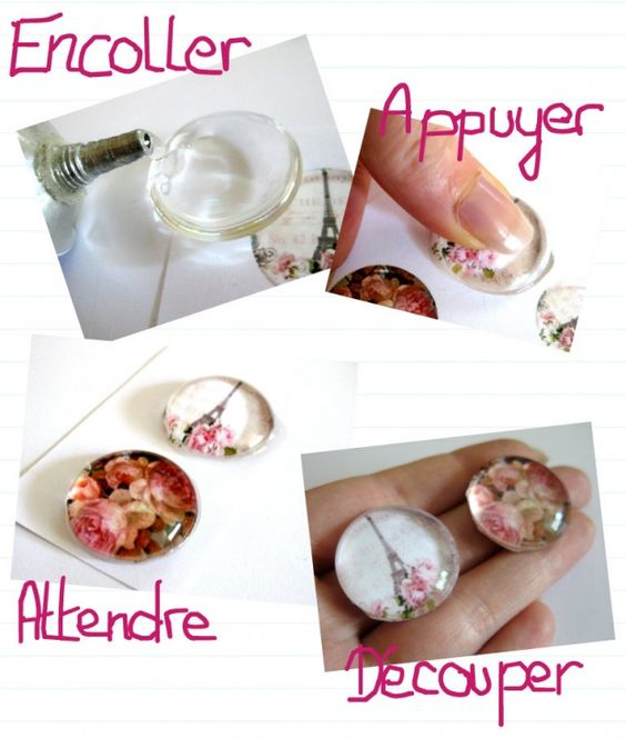 Tuto faire un bijou cabochon diy pinterest bijoux et blog - Faire des bijoux ...