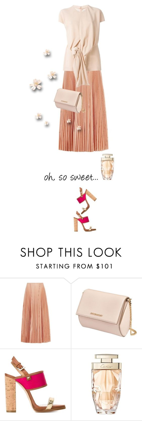 """""""so sweet.."""" by vinograd24 ❤ liked on Polyvore featuring Cédric Charlier, Marni, Givenchy, Dsquared2 and Cartier"""