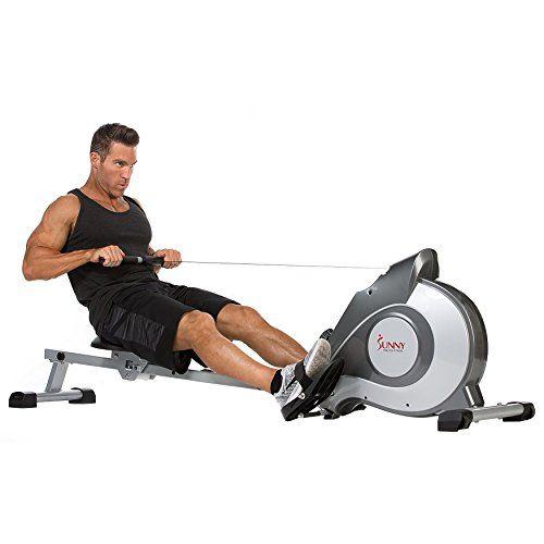 Sunny Health Fitness Sf Rw5515 Magnetic Rowing Machine Rower W