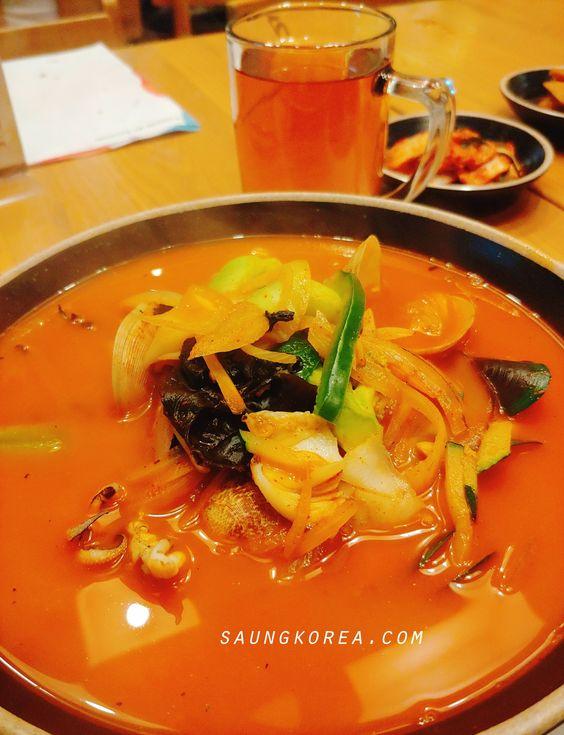Jjamppong Menu Darin Master of Noodle Korean Food (saungkorea.com)