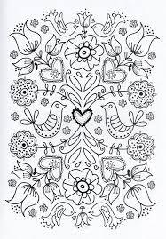 Resultado De Imagen Para Dibujos Mexicanos Para Bordar Bordado Mexicano Patrones Paginas Para Colorear De Flores Patrones De Bordado