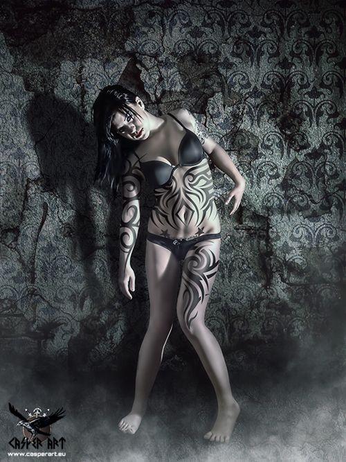 Dark goth erotica girls