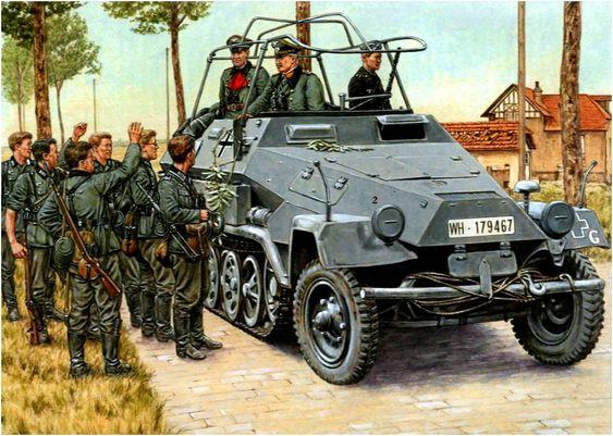 General Guderian, France, May 1940.