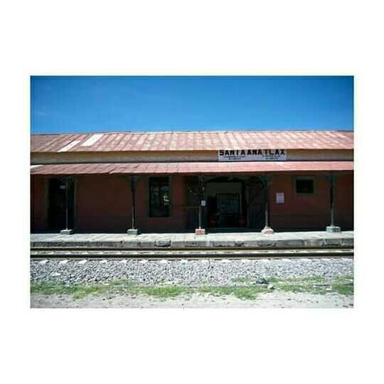La estación de trenes en Santa Ana #Chiautempan  #Tlaxcala #Santaana #igerstlaxcala
