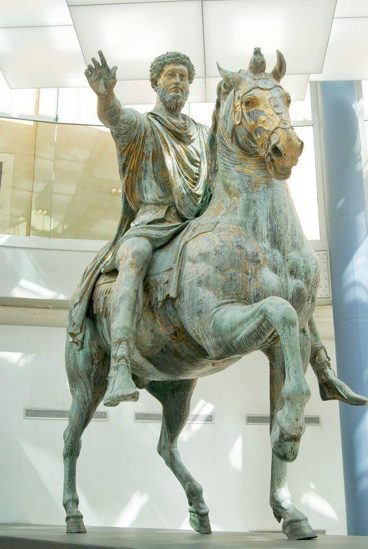 Retrato ecuestre Marco Aurelio -  curiosidades de la Historia