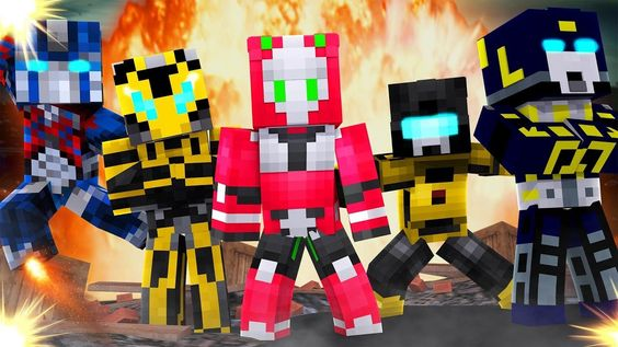Transformers G1 Edition Mod Transformers G1 Transformers Minecraft Mods