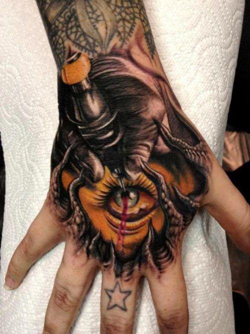 101 Disenos De Tatuajes En La Mano Para Hombres Hand Tattoos Hand Tattoos For Guys Tattoos For Guys