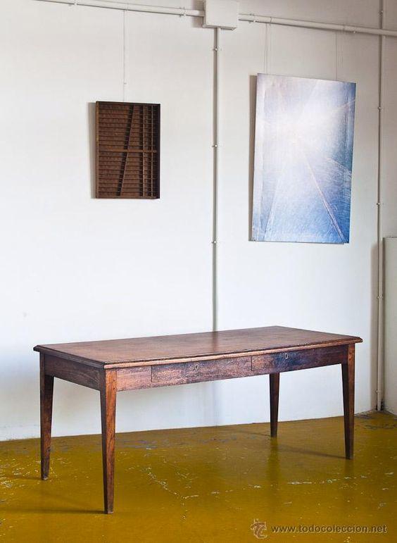 de roble  Francia, años 3040  Muebles antiguos en todocoleccion