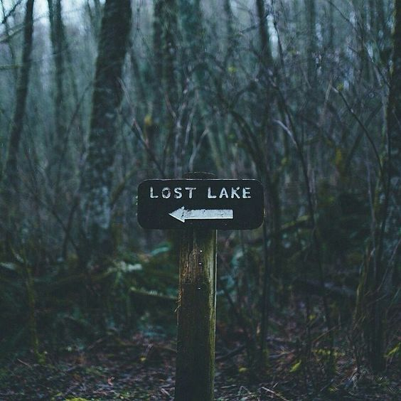 zaginione jezioro