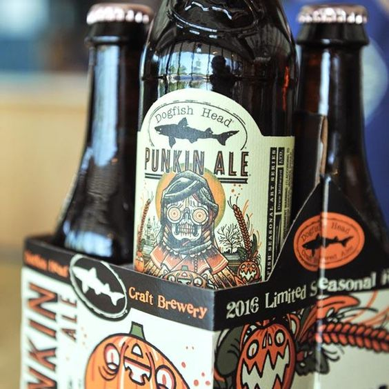 Punkin Ale | Dogfish Head Craft Brewed Ales | Off Centered Stuff For Off…: