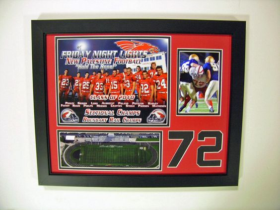 Senior Gifts- New Palenstine Football - Man Cave Collectibles Store